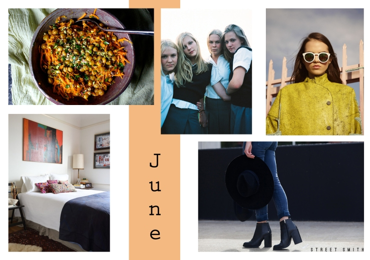 june inspiration wall