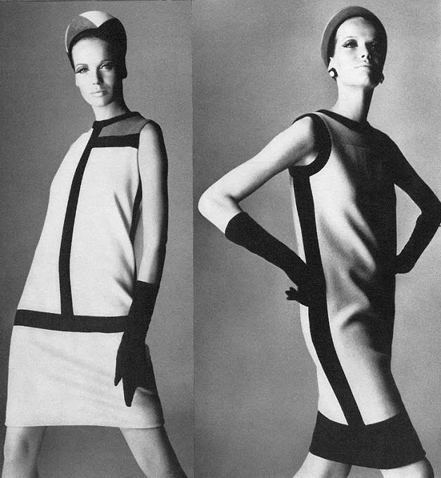 ysl mondrian 1960s