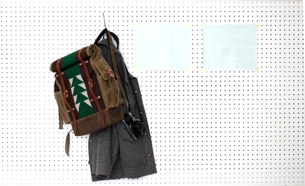 patchwork backpack