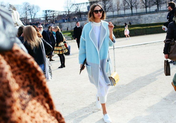 paris fashion week pastel