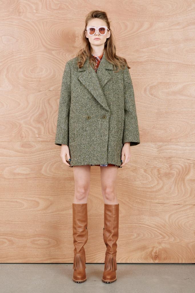 karen walker tweedia coat