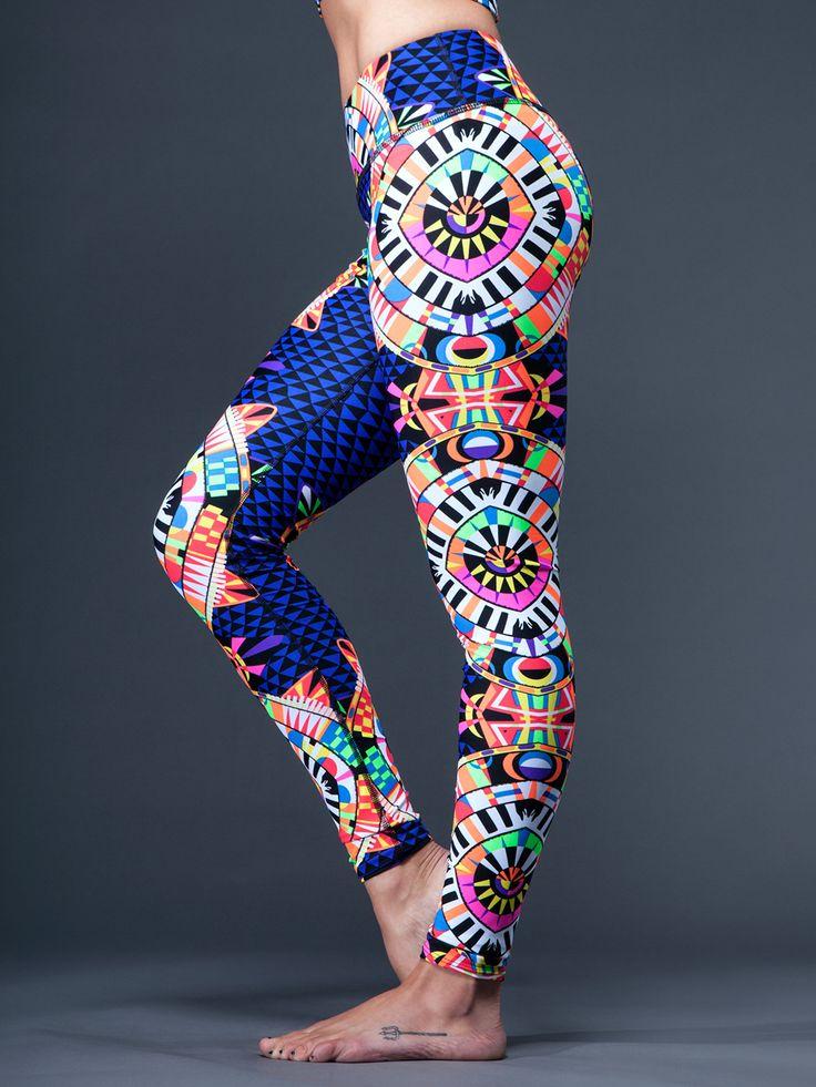 mara hoffman sport leggings