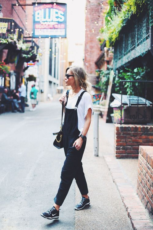 overalls street style