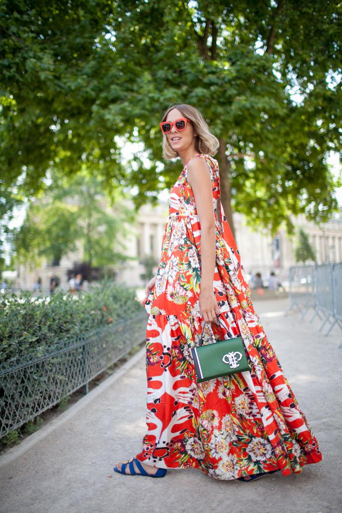 maxi dress summer street style