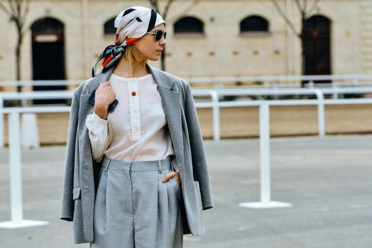 headscarf street style