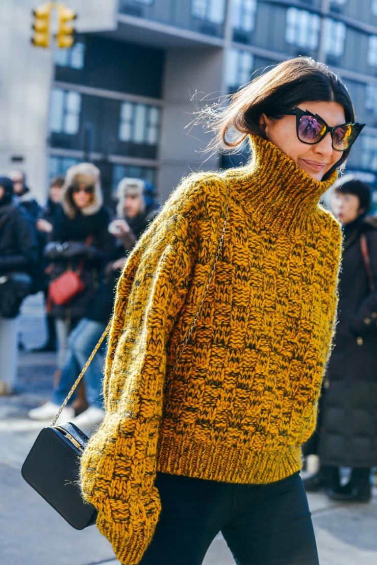 winter wool street style