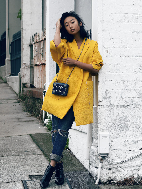 margaret zhang yellow shine by three