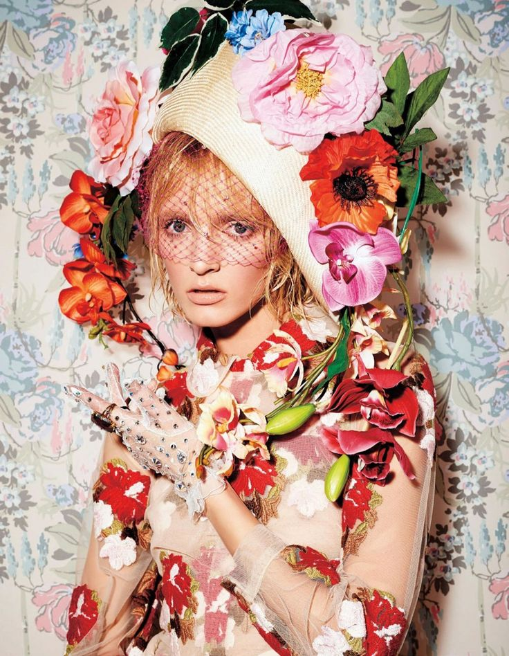 harpers bazaar japan flower