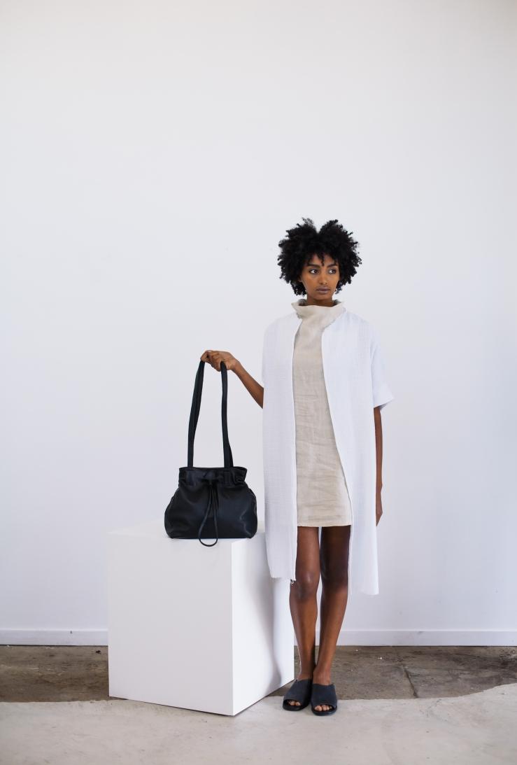 st agni leather bag sustainable