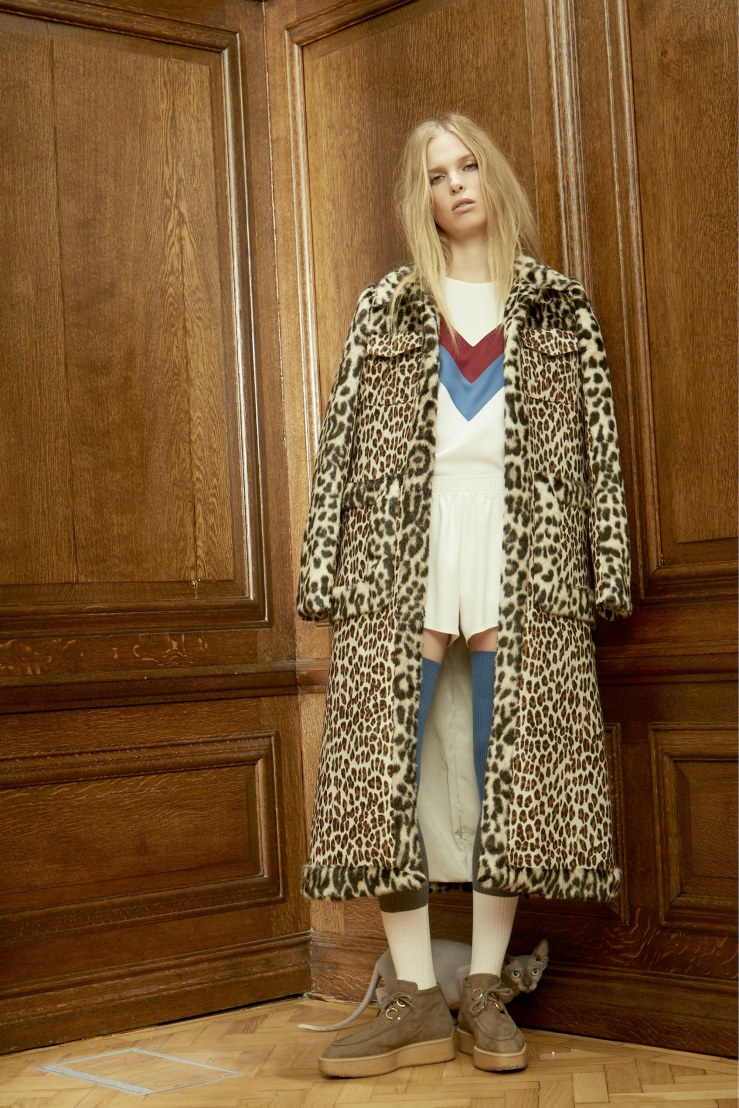 stella mccartney leopard print