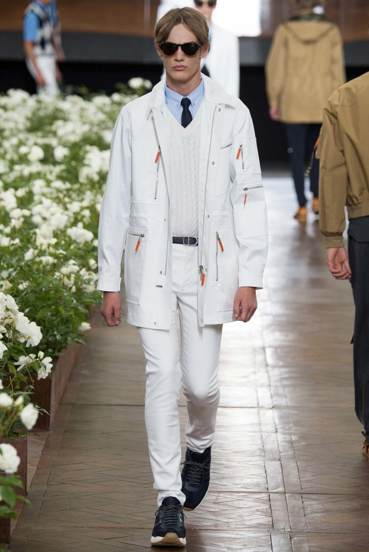 dior homme white