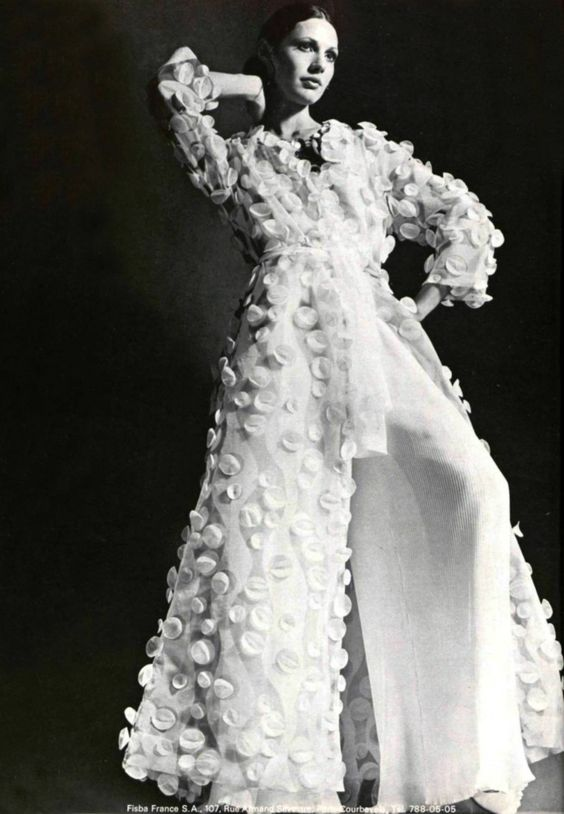 emanuel ungaro 1960s floral