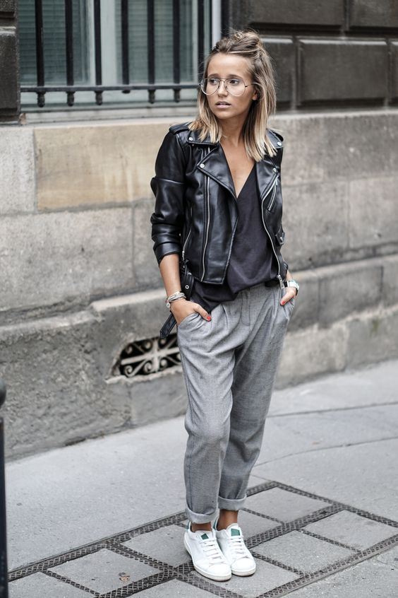 athleisure street style track pant