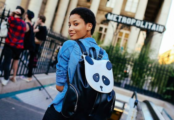 lineisy montero panda backpack