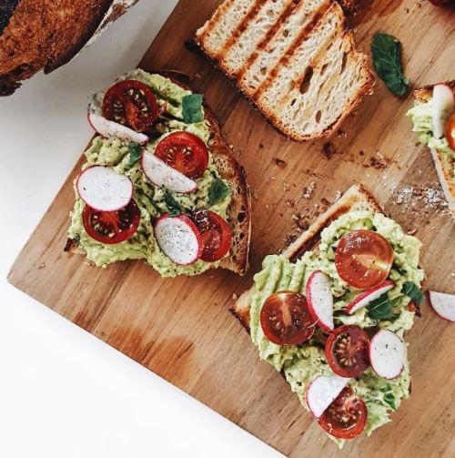 thyme and temp avocado toast