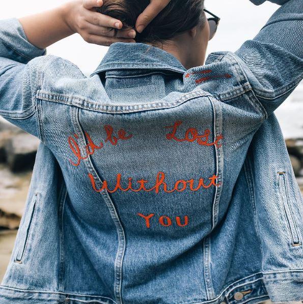jasmine dowling denim jacket