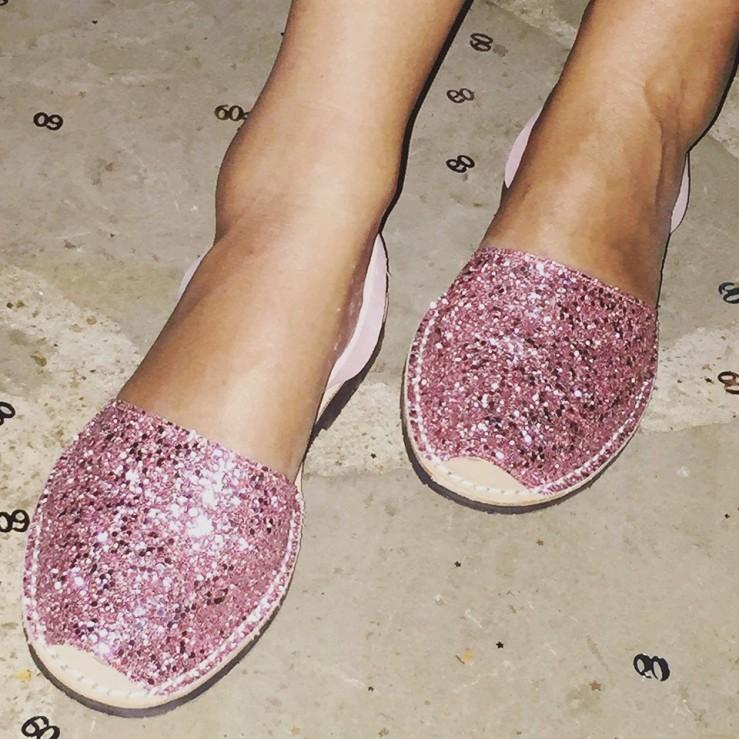 palmaira sandals glitter