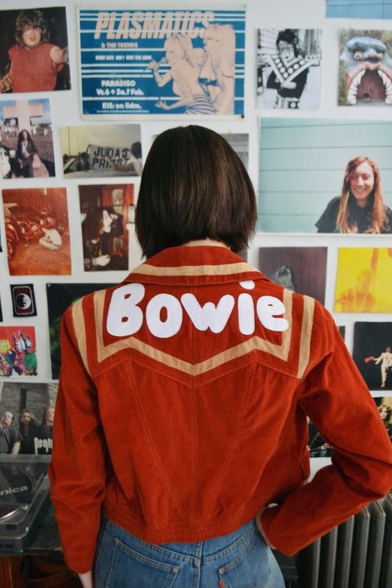 bowie red jacket
