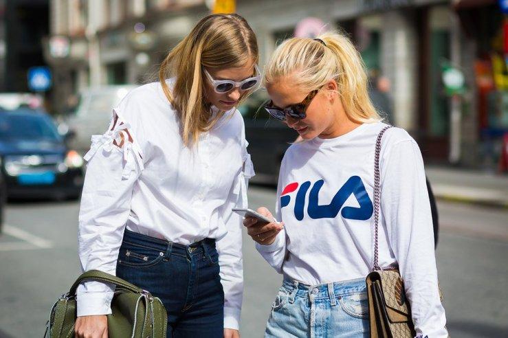 stockholm white shirt street style