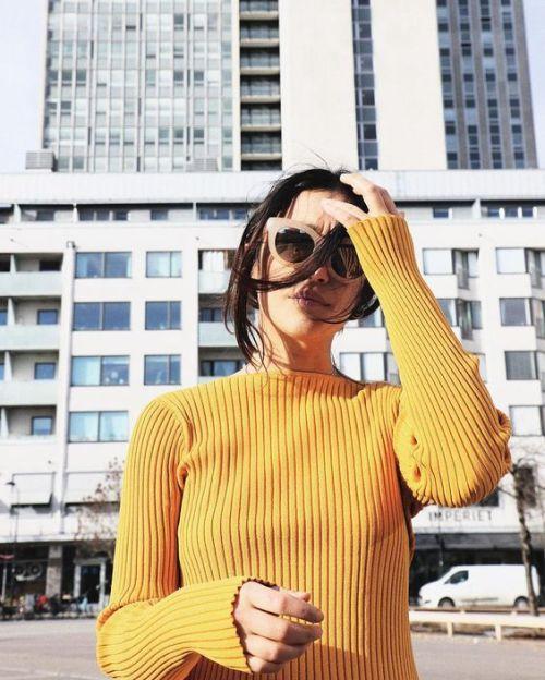 mustard fashion spring