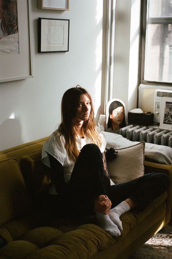 brie welch fashion director at home